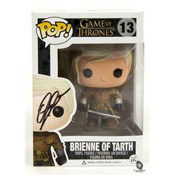 Game of Thrones Brienne of Tarth Funko Pop! Vinyl Figure Signed by Gwendoline Christie