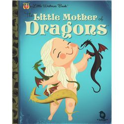 """Game of Thrones """"The Little Mother of Dragons"""" Little Westeros Book Giclée by Joey Spiotto"""
