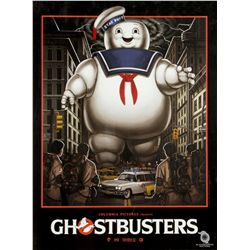 Gallery1988 Ghostbusters Commemorative Show Poster by Mike Mitchell