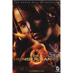 Jennifer Lawrence Signed The Hunger Games Katniss Photo