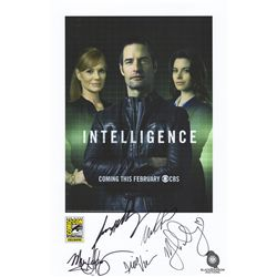 Intelligence San Diego Comic Con 2013 Promotional Poster Signed by the Cast