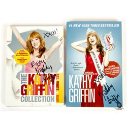 Kathy Griffin Signed Book & DVD Set