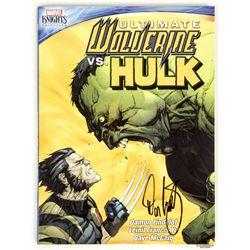 Marvel Knights: Ultimate Wolverine Vs Hulk DVD Signed by Damon Lindelof