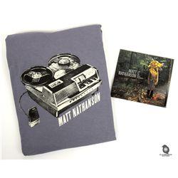 Matt Nathanson Signed Last of the Great Pretenders CD & T-Shirt