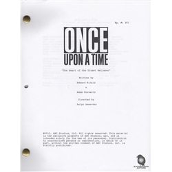 "Once Upon a Time Script for Episode ""The Heart of the Truest Believer"" Signed by Cast"