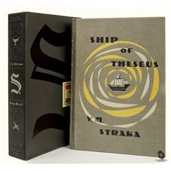 S. Hardcover Book Signed by J.J. Abrams & Doug Dorst