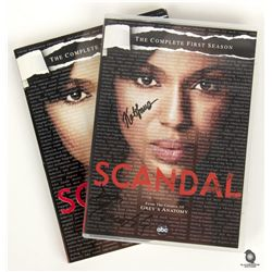 Scandal Season 1 DVD Signed by Dan Bucatinsky & Katie Lowes