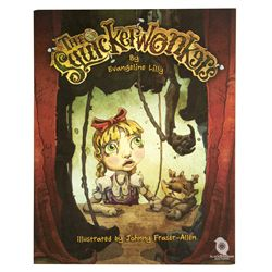 The Squickerwonkers Softcover 2013 Book Signed by Evangeline Lilly
