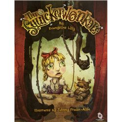 The Squickerwonkers Hardcover 2014 Book Signed by Evangeline Lilly
