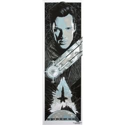 Star Trek  Into Darkness  Limited Screen Print by Rhys Cooper