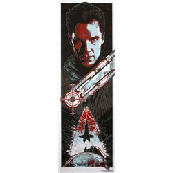 """Star Trek """"Into Darkness"""" Red Variant Limited Screen Print by Rhys Cooper"""
