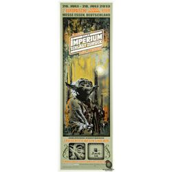 Star Wars: The Empire Strikes Back  Luminous Beings Are We  German Yoda Poster with LOST Numbers