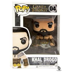 Game of Thrones Khal Drogo Funko POP! Vinyl Figure Signed by Jason Momoa