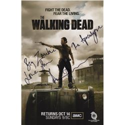 Andrew Lincoln Signed Photo from as Rick Grimes from The Walking Dead