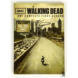 The Walking Dead Season 1 DVD Signed by Robert Kirkman
