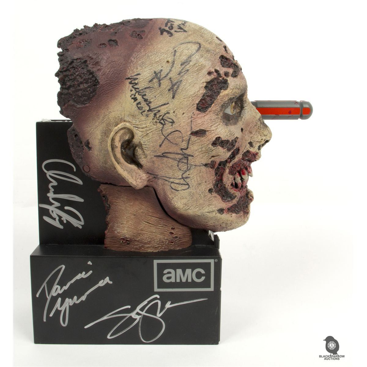 The Walking Dead Season 2 Special Edition Blu Ray Zombie Set Signed By Cast Executive Producers