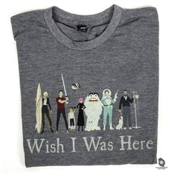 Wish I Was Here T-shirt & Concept Art