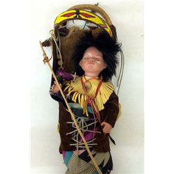 Indian Doll and Cradleboard