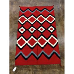 Southwestern Diamond Pattern Rug