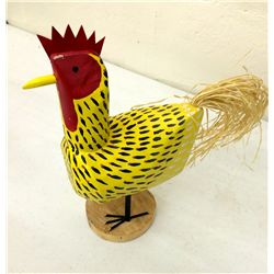 Folk Art Rooster by Lulu Herbert