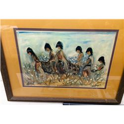 Signed DeGrazia Print
