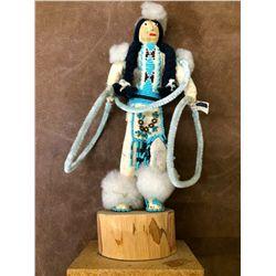 Vintage Blackfoot Kachina Doll
