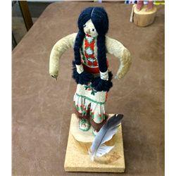 Vintage Handmade Blackfoot Doll
