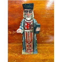 Woodcarved Vintage Priest