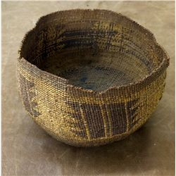 Vintage Northern California Indian Basket