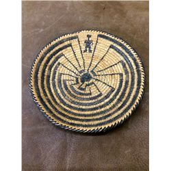 Pima Man in the Maze Basket