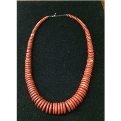 Red Jasper Graduated Necklace