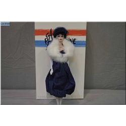 """New in box from The Barbie Porcelain Collection """"Gay Parisienne 1959"""" limited edition porcelain Barb"""