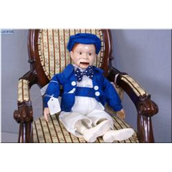 "Vintage 15"" Effanbee Edgar Bergen ""Charlie McCarthy ""doll composition doll circa 1937"