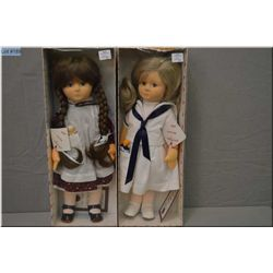 Two new in box limited edition cloth Lollipop dolls including Felicity 114/750 and Annabel 79/750 bo