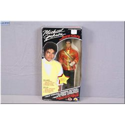 """Boxed Michael Jackson doll dressed in his 1984 American Music Awards outfit from Grand toys """"Superst"""