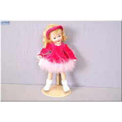 """15"""" Reliable composition Barbara Ann Scott doll with sleep eyes, open mouth. Composition in good con"""