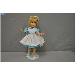 """14"""" unmarked composition Madame Alexander doll with Wendy Ann face, mohair wig, sleep eyes in tagged"""