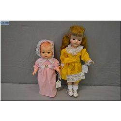 """14"""" American Character hard plastic walking doll, Sweet Sue? with closed mouth, sleep eyes and saran"""
