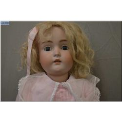 """30"""" Kestner 171 bisque head doll on composition body with open mouth, sleep eyes, great bisque, no c"""