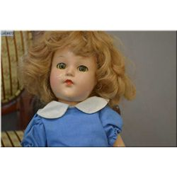"""15"""" Composition Effanbee Anne Shirley dolls, good composition, sleep eyes, all fingers and toes inta"""