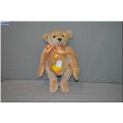 """Steiff 16"""" jointed blonde mohair teddy bear"""