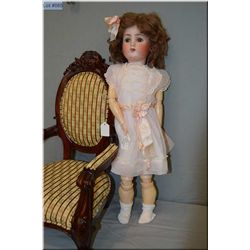 """27"""" Alt, Beck and Gottschalk 1362 """"Sweet Nell"""" bisque head doll on composition walker body with slee"""