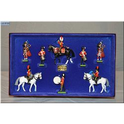 """A limited edition box of Britain?s Metal Soldiers """"The Royal Scots, Dragoon guards"""" #006243"""