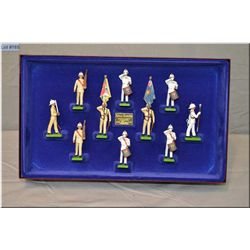 """Limited Edition box Britain?s Metal soldiers """"The Royal Marines"""" #001382"""