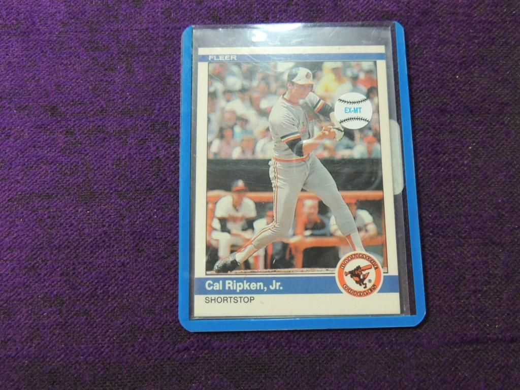 1984 Fleer Cal Ripken Jr 17 Baseball Card