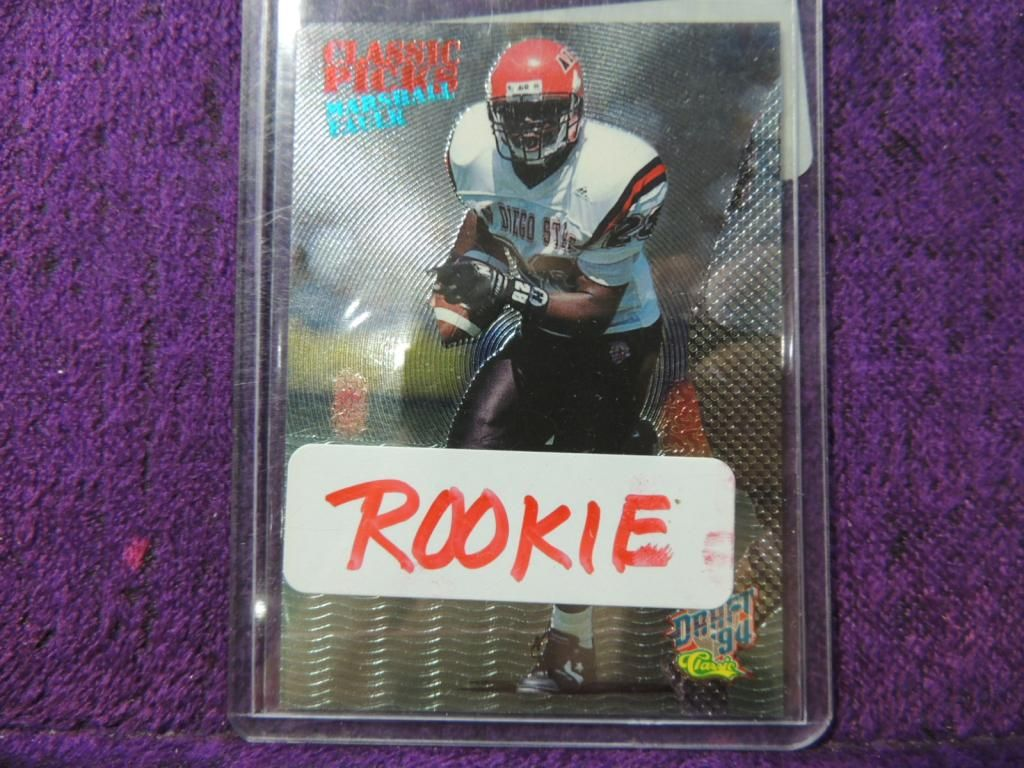 1994 Classic Marshall Faulk Rookie Football Card