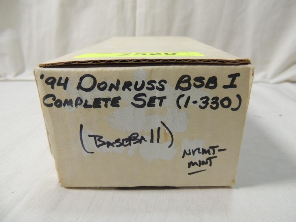 1994 Donruss Baseball Card Complete Set