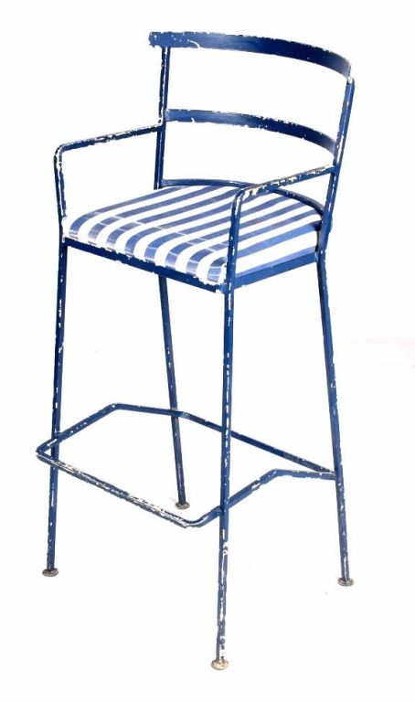 Groovy Antique Metal Bar Stool Accent Chair This Is An Ea Lamtechconsult Wood Chair Design Ideas Lamtechconsultcom
