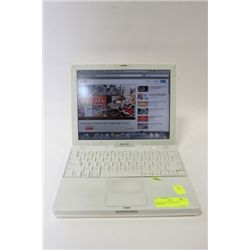 APPLE IBOOK LAPTOP WITH ADAPTOR