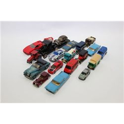 BOX OF SMALL COLLECTOR CARS